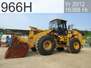 Used Construction Machine used  966H #A6J02158, 2012Year 16388Hours