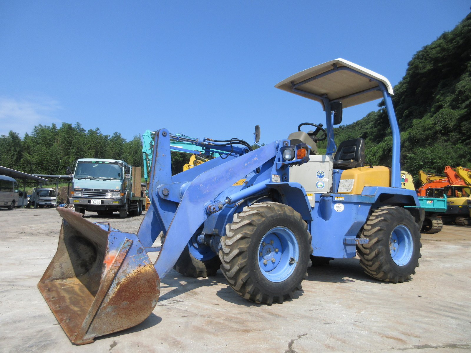 Used Construction Machine used  TCM L4-2 Photos