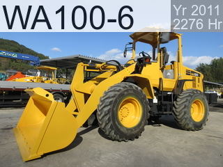 Used Construction Machine used  WA100-6 #80768, 2011Year 2276Hours