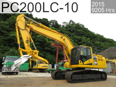 Used Construction Machine used  PC200LC-10 #453619, 2015Year 9205Hours