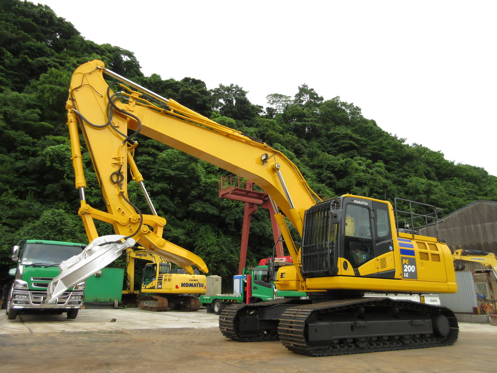 Used Construction Machine used Excavator KOMATSU PC200LC-10 Photos