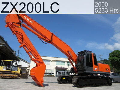 Used Construction Machine used  ZX200LC #101986, 2000Year 5225Hours