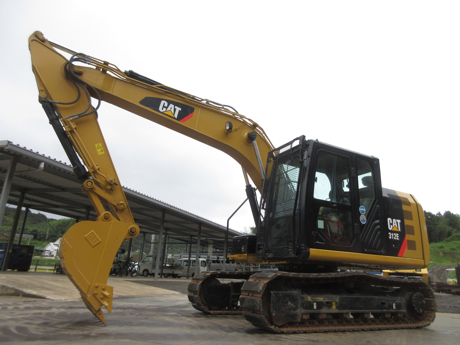 Used Construction Machine used Excavator CAT 312E-2 Photos