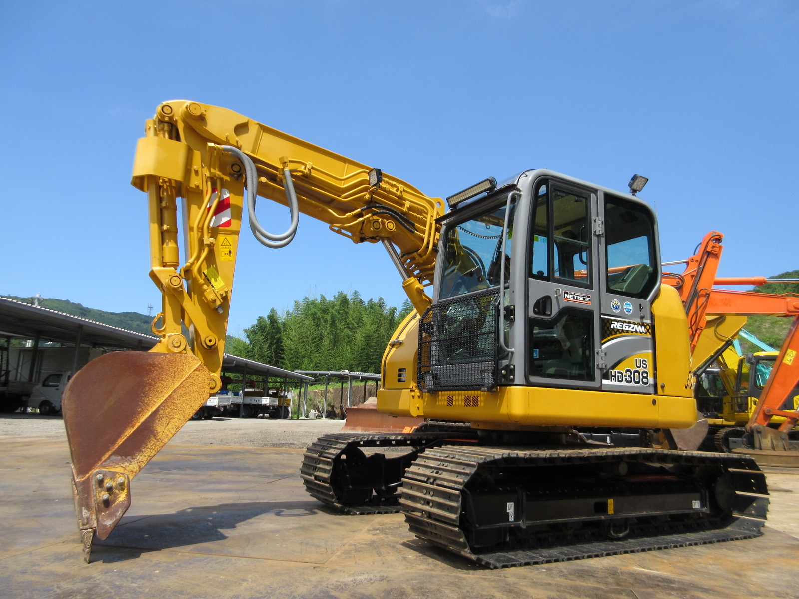 Used Construction Machine used Excavator KATO WORKS HD308US-6A Photos