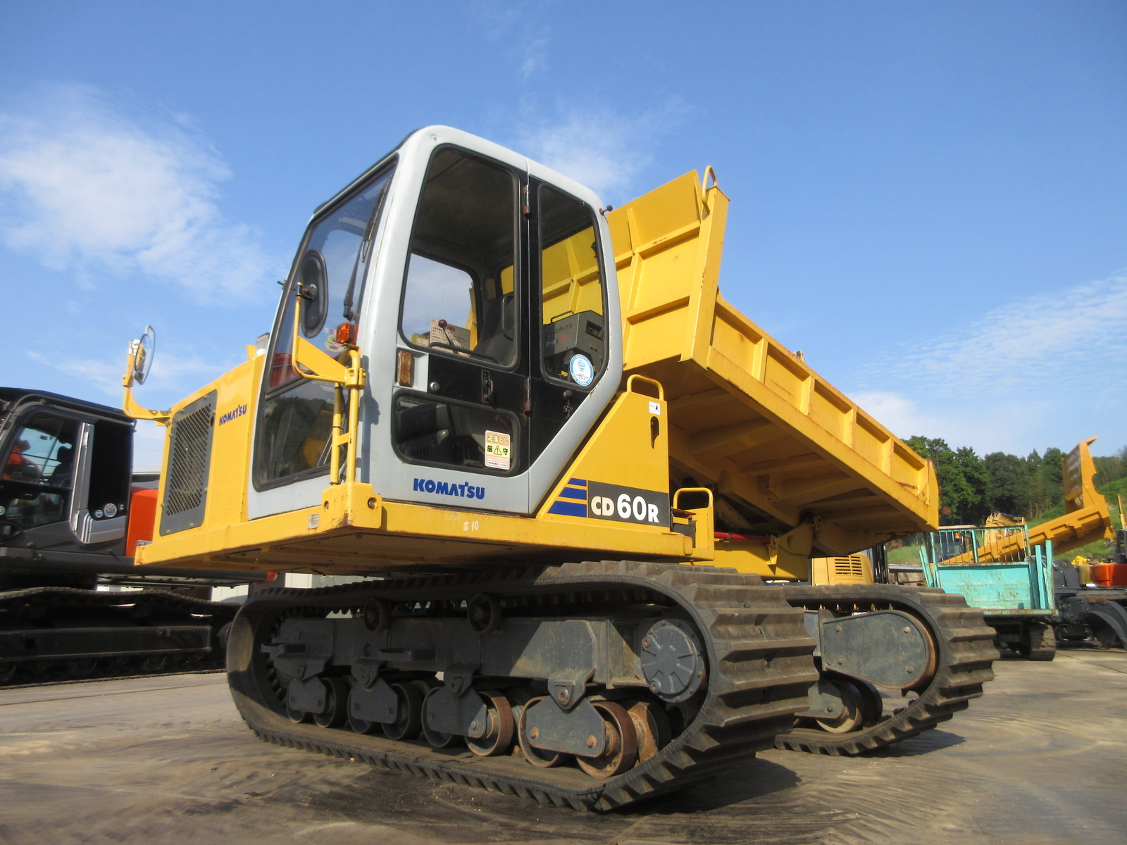 Used Construction Machine used Crawler carrier KOMATSU CD60R-1 Photos