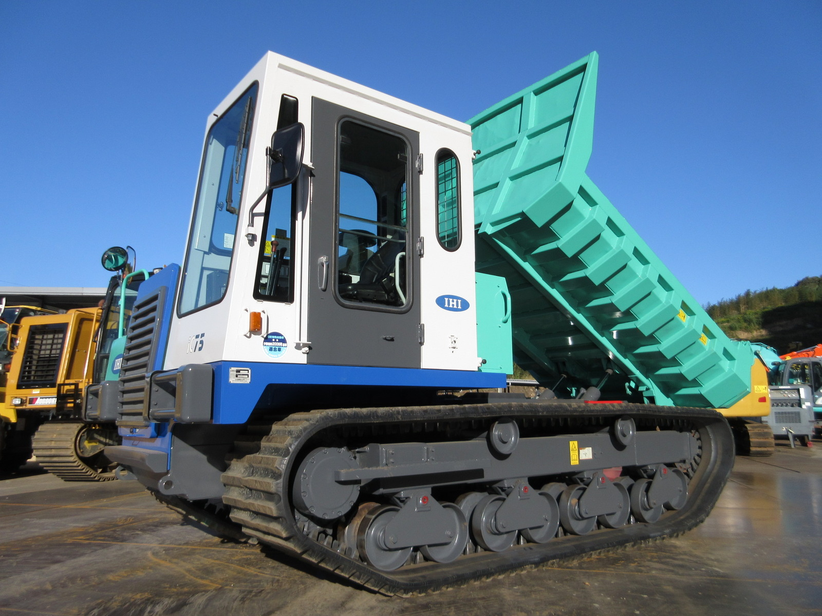 Used Construction Machine used Crawler carrier IHI Construction Machinery IC75 Photos