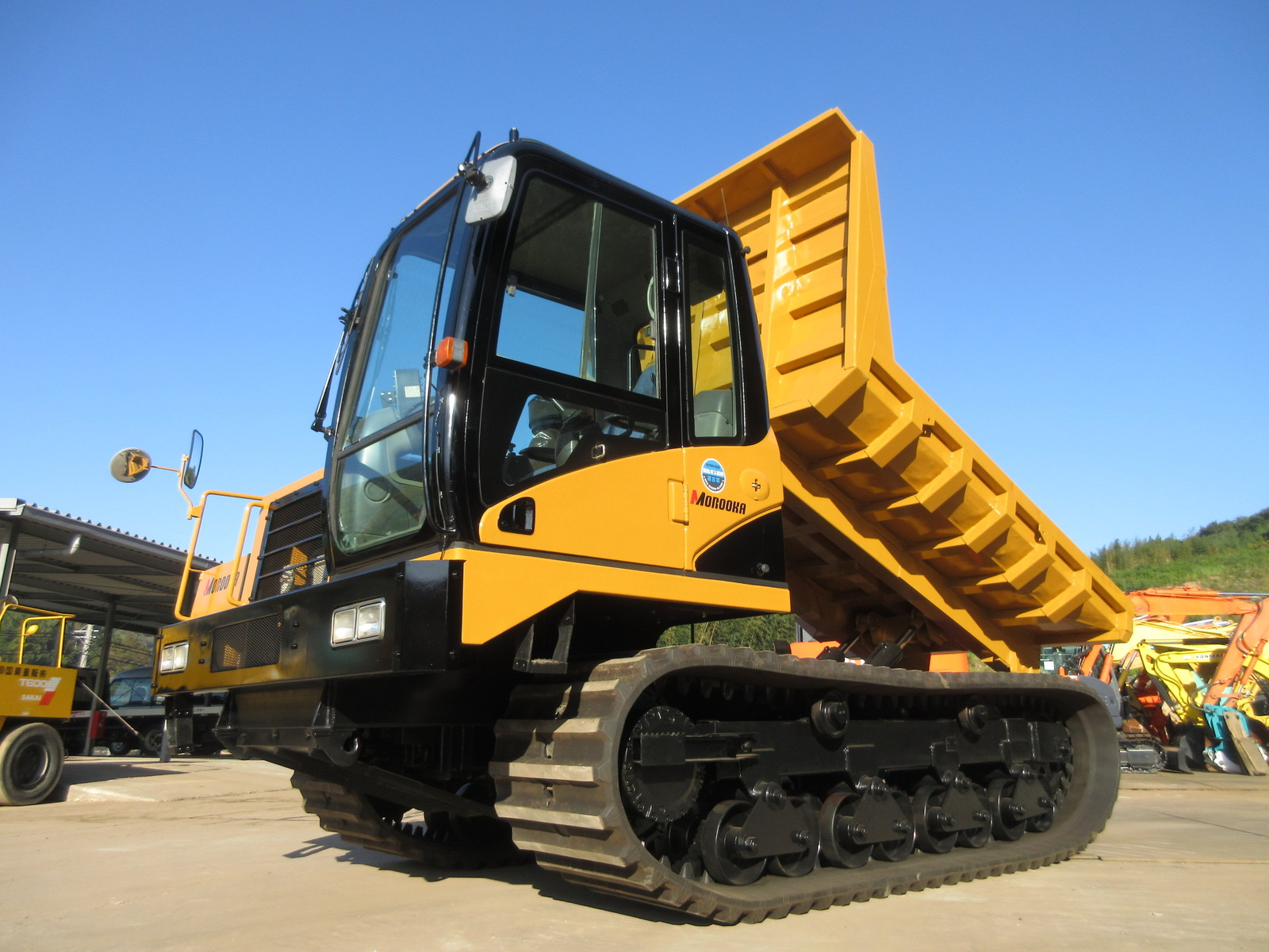 Used Construction Machine used Crawler carrier MOROOKA MST-2200VD Photos