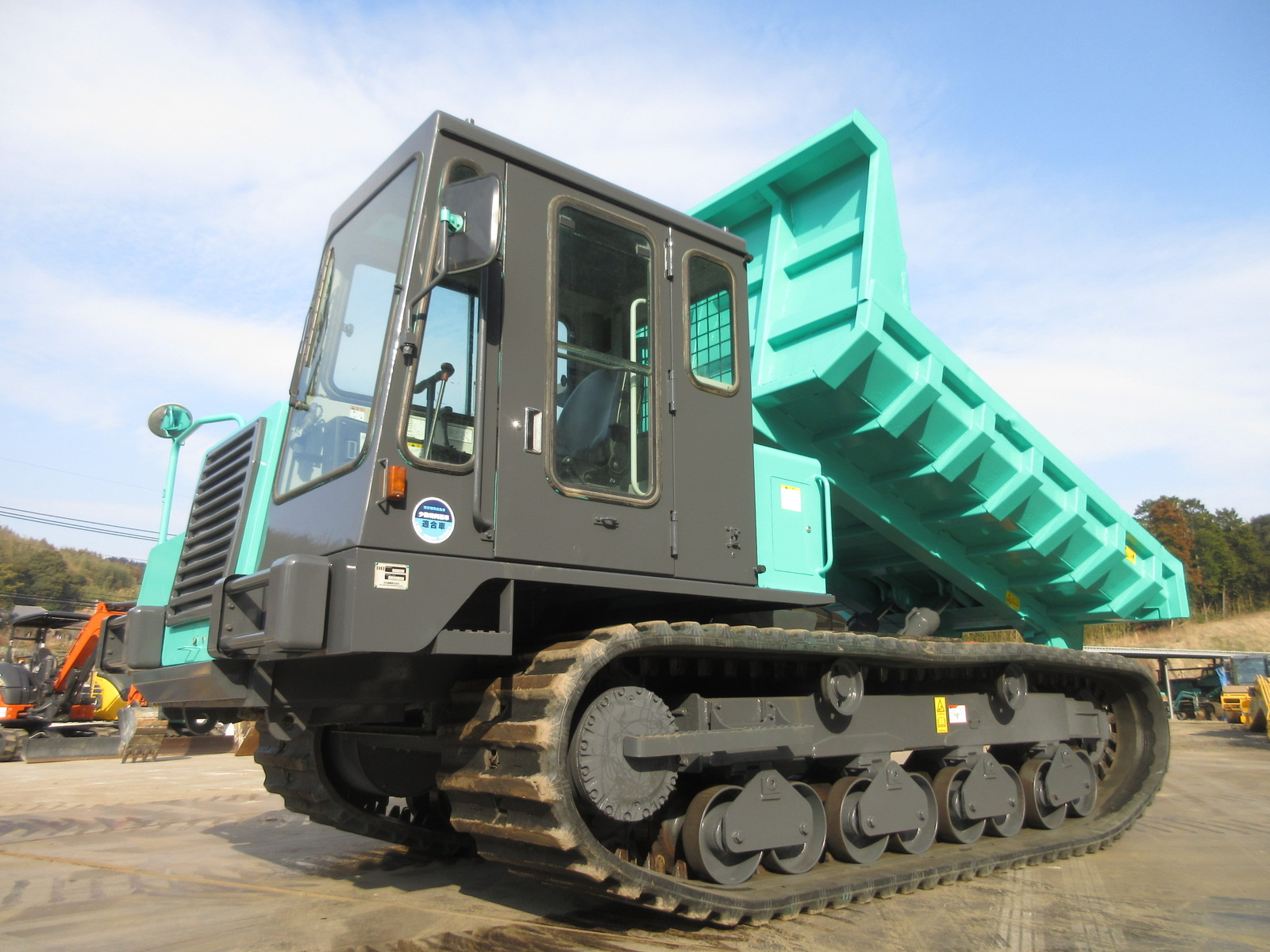 Used Construction Machine used Crawler carrier IHI Construction Machinery IC100-2 Photos