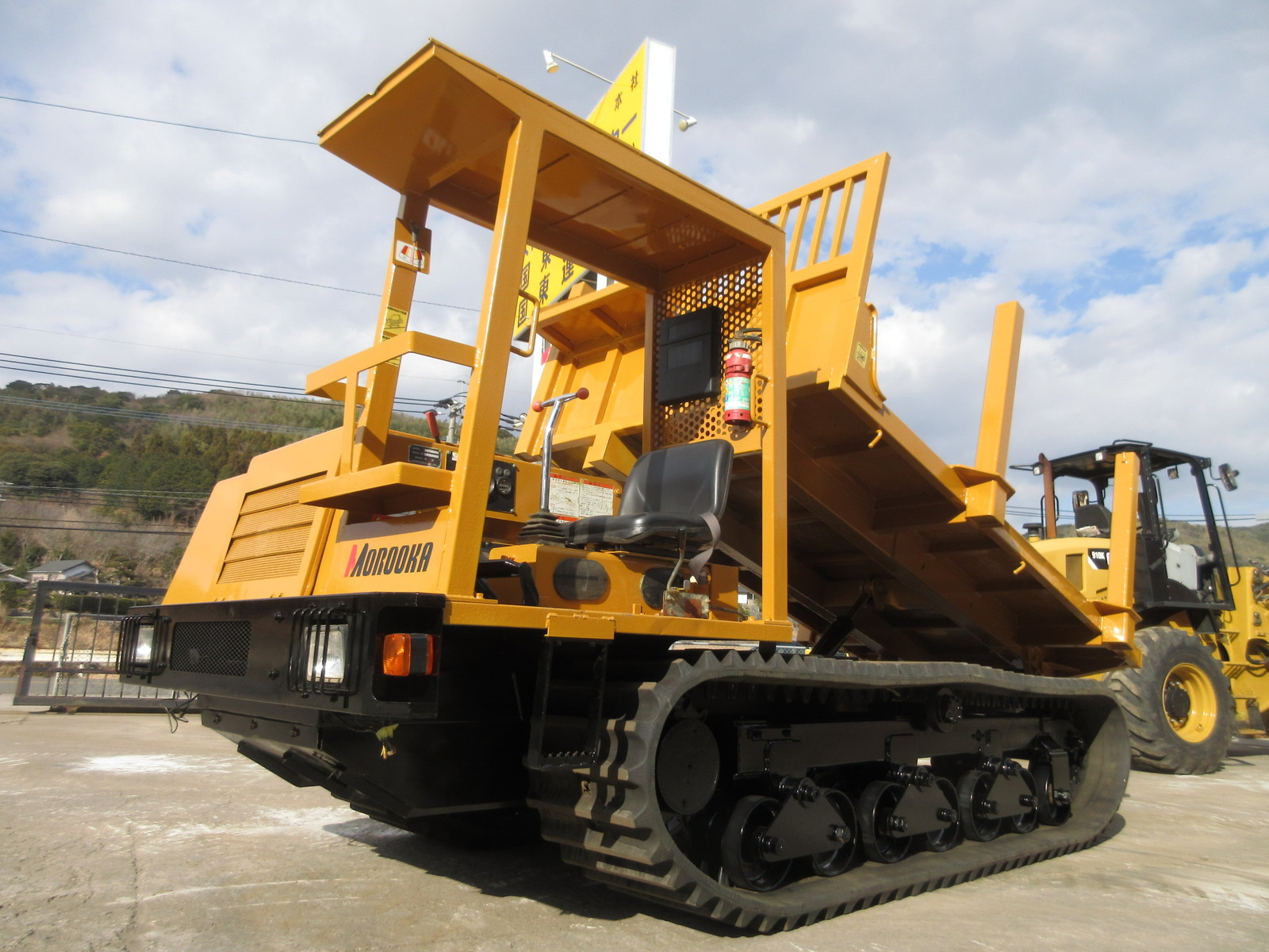 Used Construction Machine used Crawler carrier MOROOKA MST-600VDL Photos