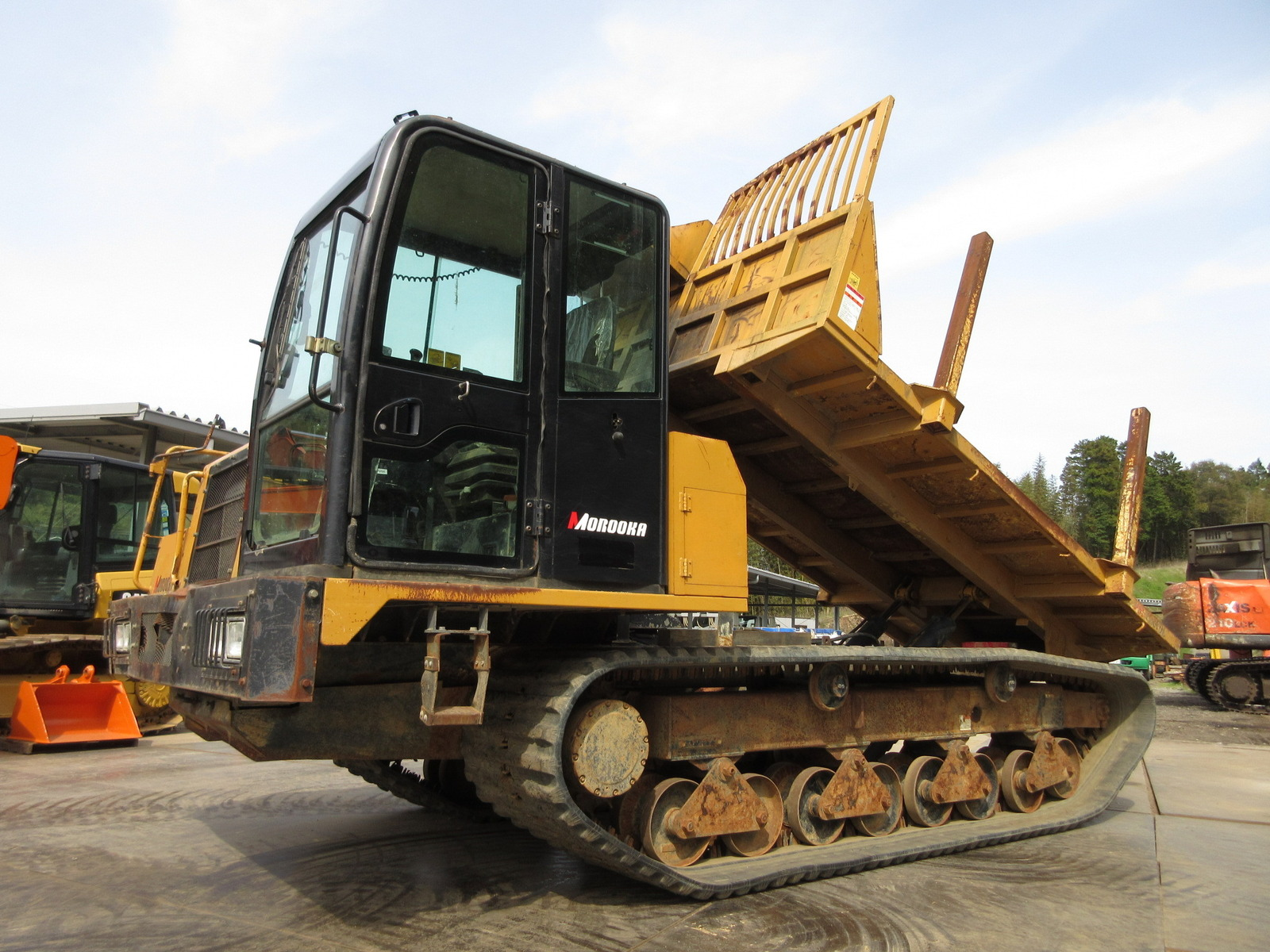 Used Construction Machine used  Forestry excavators Forwarder MST-1500VDL Photos