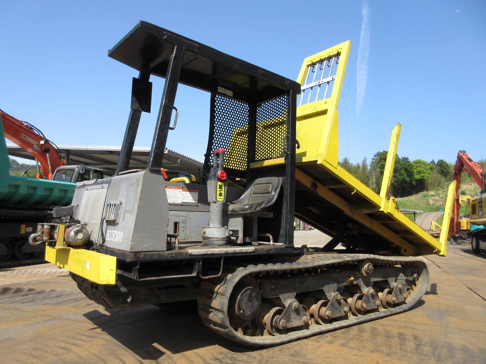 Used Construction Machine used  Forestry excavators Forwarder KCF300-1 Photos