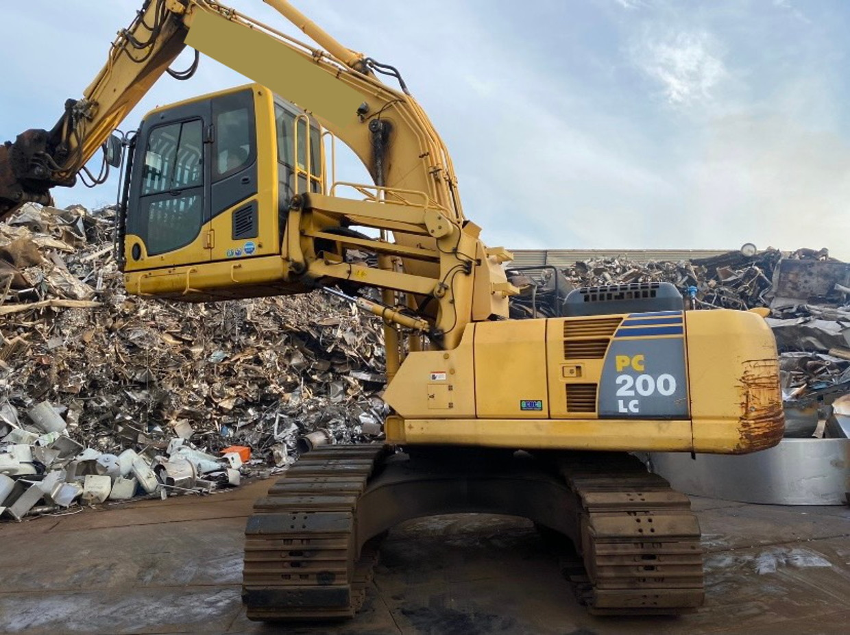Used Construction Machine used  Material Handling / Recycling excavators Grapple PC200LC-8N1 Photos