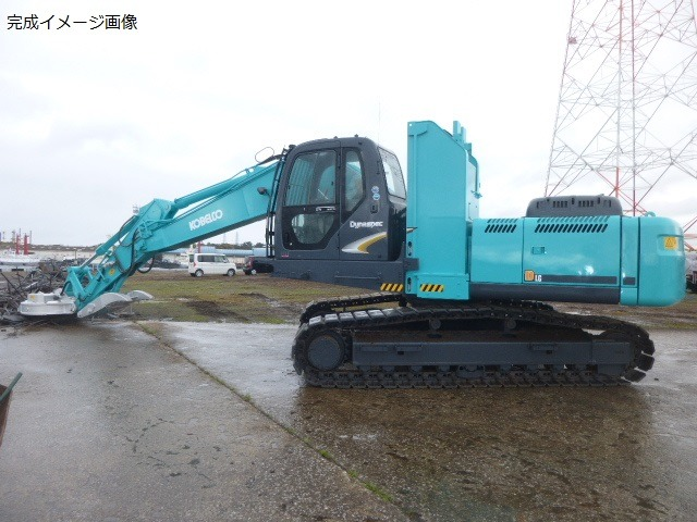Used Construction Machine used  Material Handling / Recycling excavators Magnet Ace SK260DLC-8 Photos