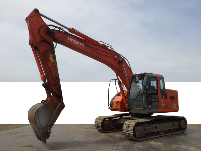 Used Construction Machine used  Material Handling / Recycling excavators Grapple ZX225USR Photos