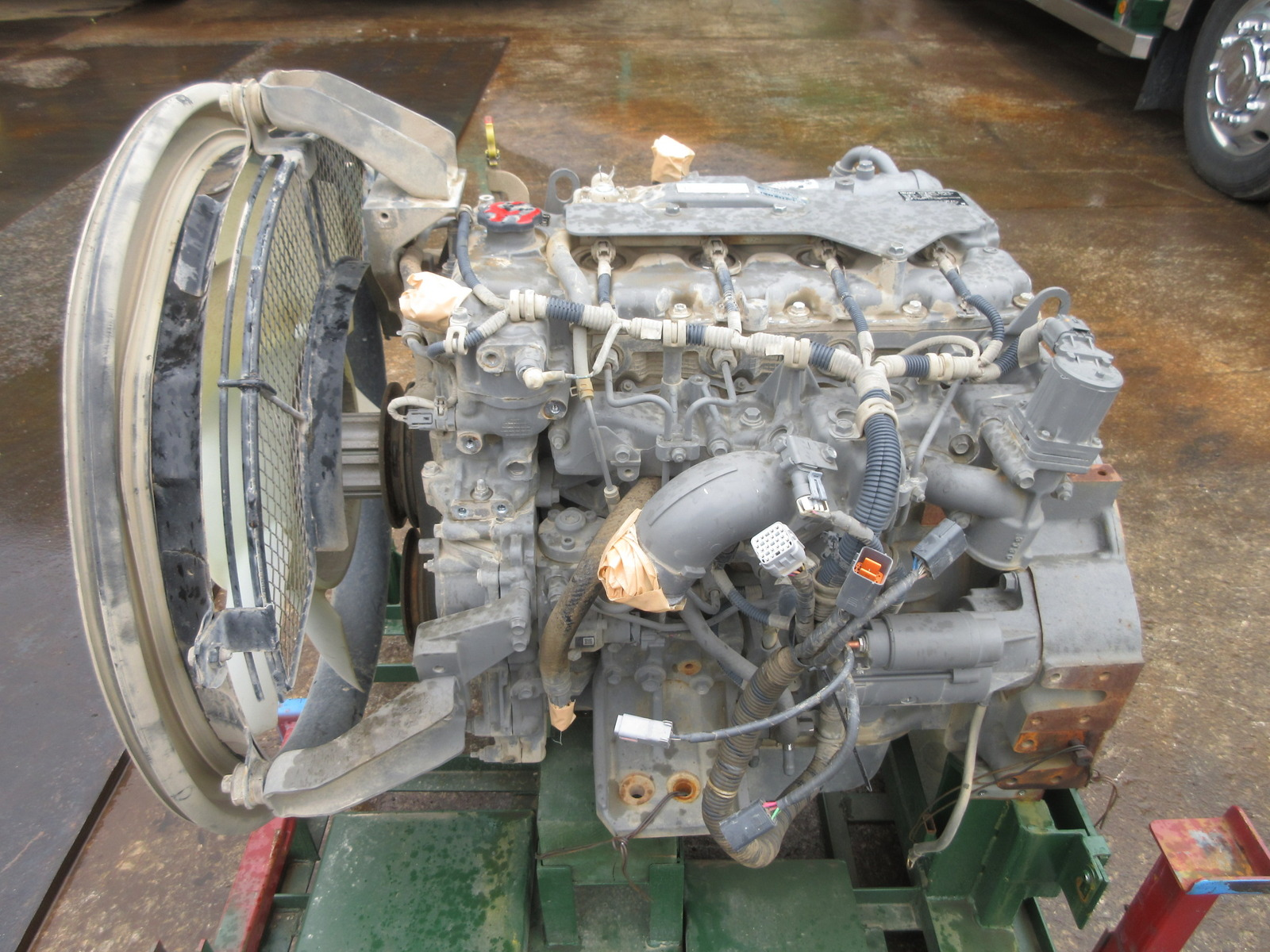 Used Construction Machine used  Engine Diesel engine AJ-4JJ1XYSA-03 Photos